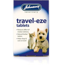 Johnsons Veterinary Travel-Eze Tablets for Cats & Dogs 24 Tablets
