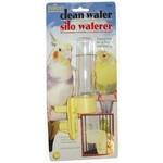 JW Clean Water Silo Cage Bird Waterer