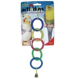 JW Olympia Rings Cage Bird Toy