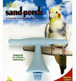 JW Small Bird Sand Perch T Perch Regular