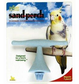 JW Small Bird Sand Perch, T Shaped, Regular