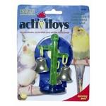 JW Spinning Bells Cage Bird Toy