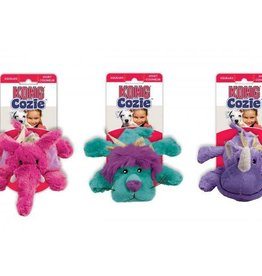 KONG Cozies Brights Plush Dog Toy