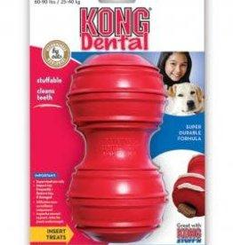 KONG Dental Red Dog Toy