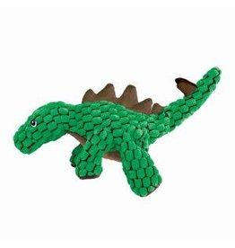 KONG Dynos Stegosaurus Dog Toy, Green