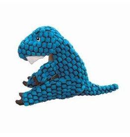 KONG Dynos T-Rex Dog Toy, Blue