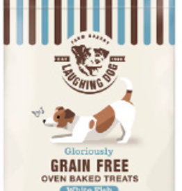 Laughing Dog Grain Free Oven Baked White Fish Dog Treats