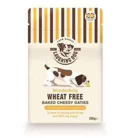 Laughing Dog Oven Baked Dog Treats, Cheesy Oaties 250g