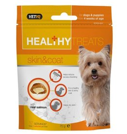 (Mark & Chappell) VetIQ Dog & Puppy Healthy Treats Skin & Coat 70g
