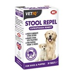 Mark & Chappell VetIQ VetIQ Stool Repel Coprophagia Remedy for Puppies & Dogs, 30 Tablets