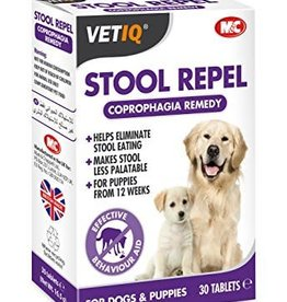 (Mark & Chappell) VetIQ Dog Stool Repel-Um 30 Tablets