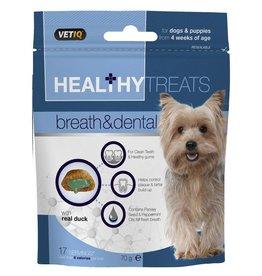 Mark & Chappell VetIQ VetIQ Healthy Treats Breath & Dental for Dogs & Puppies, 70g