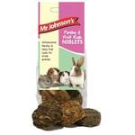 Mr Johnson's Parsley & Fruit Rusk Niblets Small Animal Treats, 110g