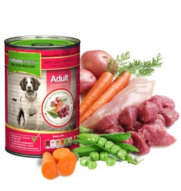 natures menu Adult Dog Can, Beef & Chicken 400g