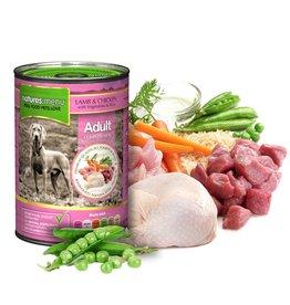 natures menu Adult Dog Wet Food Can, Chicken & Lamb, 400g