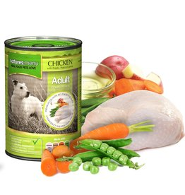 natures menu Adult Dog Wet Food Can, Chicken, 400g