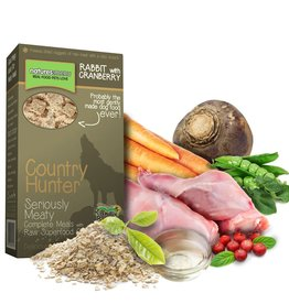 natures menu Country Hunter Dry Dog Food, Rabbit with Cranberry Chunks 700g