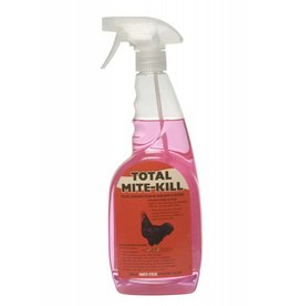 Nettex Poultry Total Mite Kill - Ready to Use Pink Solution, 750ml