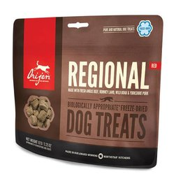 Orijen Freeze Dried Formula Matched Dog Treats Regional Red 42.5g
