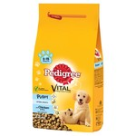 Pedigree Complete Puppy Medium Dry Dog Food with Chicken & Rice, 2.2kg