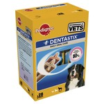 Pedigree Dentastix Daily Adult 1+ Dental Dog Chews, 28 Stick