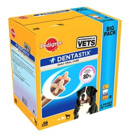Pedigree Dentastix Daily Adult 1+ Dental Dog Chews, 56 Stick