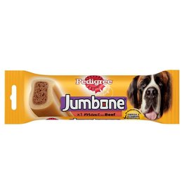 Pedigree Jumbone Large Dog Treat with Beef & Poultry Maxi Chew, 180g