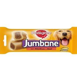 Pedigree Jumbone Medium Beef Dog Chew 2 Pack 200g