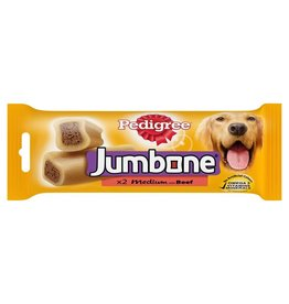 Pedigree Jumbone Medium Dog Treat with Beef & Poultry, 2 Chews, 180g