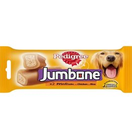 Pedigree Jumbone Medium Chicken & lamb Dog Chew  2 Pack 200g