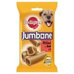 Pedigree Jumbone Small Dog Treats with Beef & Poultry, 4 Mini Chews, 160g