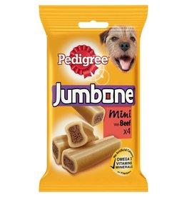 Pedigree Jumbone Mini Beef Dog Chew, 4 pack 180g