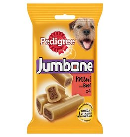 Pedigree Jumbone Mini Beef & Poultry Dog Chew, 4 pack 180g