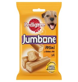 Pedigree Jumbone Mini Chicken & Lamb Dog Chew, 4 pack 180g