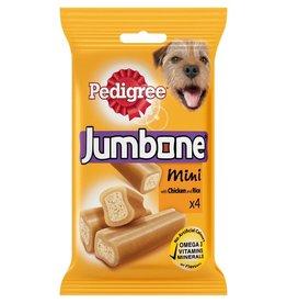 Pedigree Jumbone Mini Chicken & Rice Dog Chew, 4 pack 180g