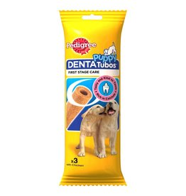 Pedigree Denta Tubos Puppy Treat Chews, 3 Sticks, 72g