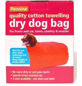 Pennine Dry & Clean Dog Towelling Bag