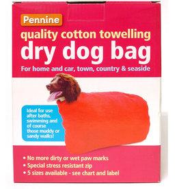 Pennine Dry & Clean Dog Towelling Bag