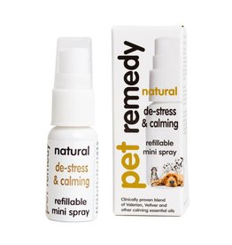 Pet Remedy Natural De-stress & Calming Mini Spray 15ml
