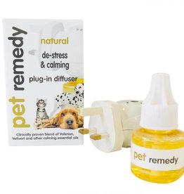 Pet Remedy Natural De-stress & Diffuser Plug In for Animals