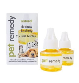 Pet Remedy Natural Diffuser Refill Twin Pack 2 x 40ml