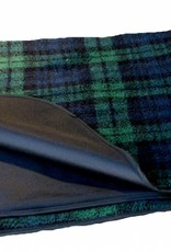 Pets & Leisure Country Dog Fleece Blanket with Waterproof Backing, Black Watch