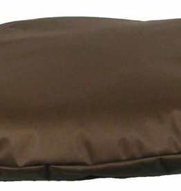 Pets & Leisure Country Dog Heavy Duty Waterproof Oval Cushion, Brown