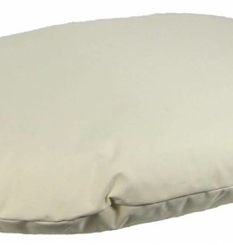 Pets & Leisure Country Dog Heavy Duty Waterproof Oval Cushion, Grey