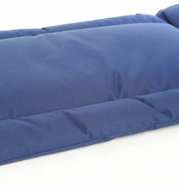 Pets & Leisure Country Dog Heavy Duty Waterproof Rectangular Cushion Pads, Blue