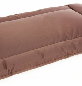 Pets & Leisure Country Dog Heavy Duty Waterproof Rectangular Cushion Pads, Brown