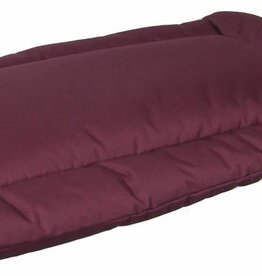 Pets & Leisure Country Dog Heavy Duty Waterproof Rectangular Cushion Pads, Burgundy