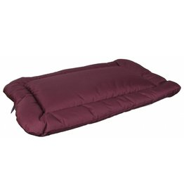 Pets & Leisure Country Dog Heavy Duty Waterproof Rectangular Cushion Pad, Burgundy