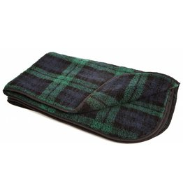 Pets & Leisure Double Thickness Sherpa Fleece Pet Blanket, Black Watch