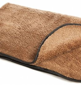 Pets & Leisure Double Thickness Sherpa Fleece Pet Blanket, Brown